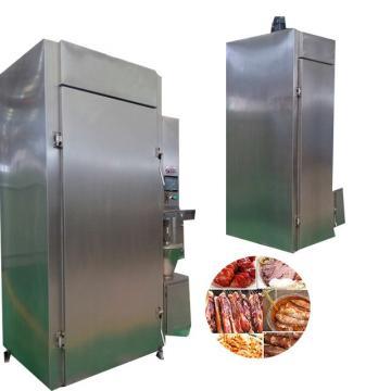 Commercial Ce Approved Pork Salmon Turkey Sausage Drying Smokehouse Meat Smoker Smoking Machine