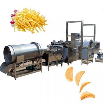 Hot Sale Industrial Peanut Banana Fryer Production Line Frozen French Fries Frying Potato Chips Making Machine