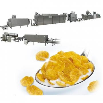 Multifuntional Extruder Corn Maize Flakes Breakfast Cereals Machine/Cornflakes Making Machine Production Line