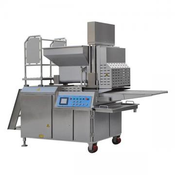 Stainless Steel Fully Automatic Hamburger Patty Molding Machine / Beef Chicken Nugget Forming Machine