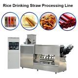Edible Eco Friendly 100-150kg/H Best Quality Rice Making Drinking Straw Machine Pasta Straw Extruder