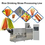 PE PP drinking straw production/ extruder line